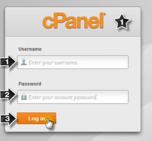 ورود به سی پنل - Cpanel لینوکس