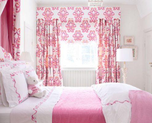 رنگ صورتی در طراحی دکور اتاق خواب