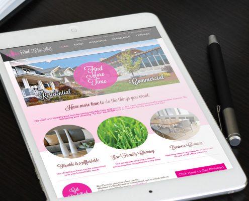 رنگ صورتی در طراحی سایت