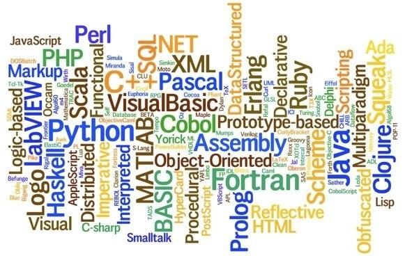 انواع زبان های وب