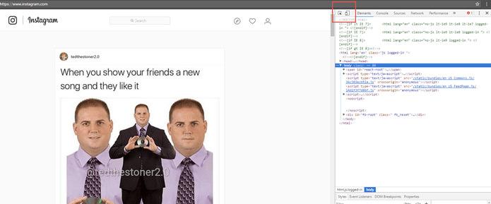 پست گذاشتن در اینستاگرام با مرورگر کامپیوتر و بدون استفاده از نرمافزار