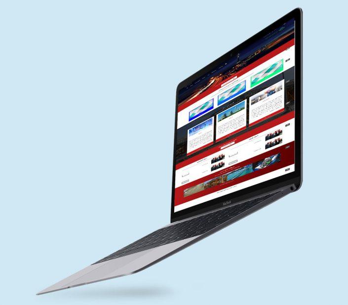 نمونه کار آقای اردکانی در دوره آموزشی طراحی سایت با HTML & css