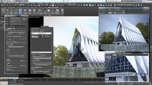 کاربرد نرم افزار تری دی مکس 3D MAX - دوره آموزشی تری دی مکس 3dmax