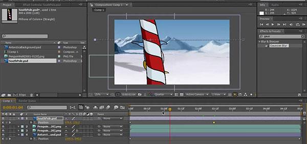 انیمیشن سازی با افترافکت - بهترین آموزشگاه افترافکت - آموزش حرفه ای افترافکت