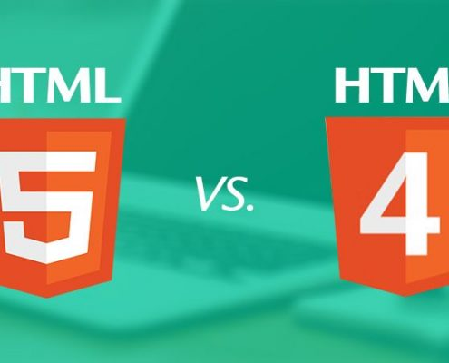 تفاوت HTML4 و HTML5