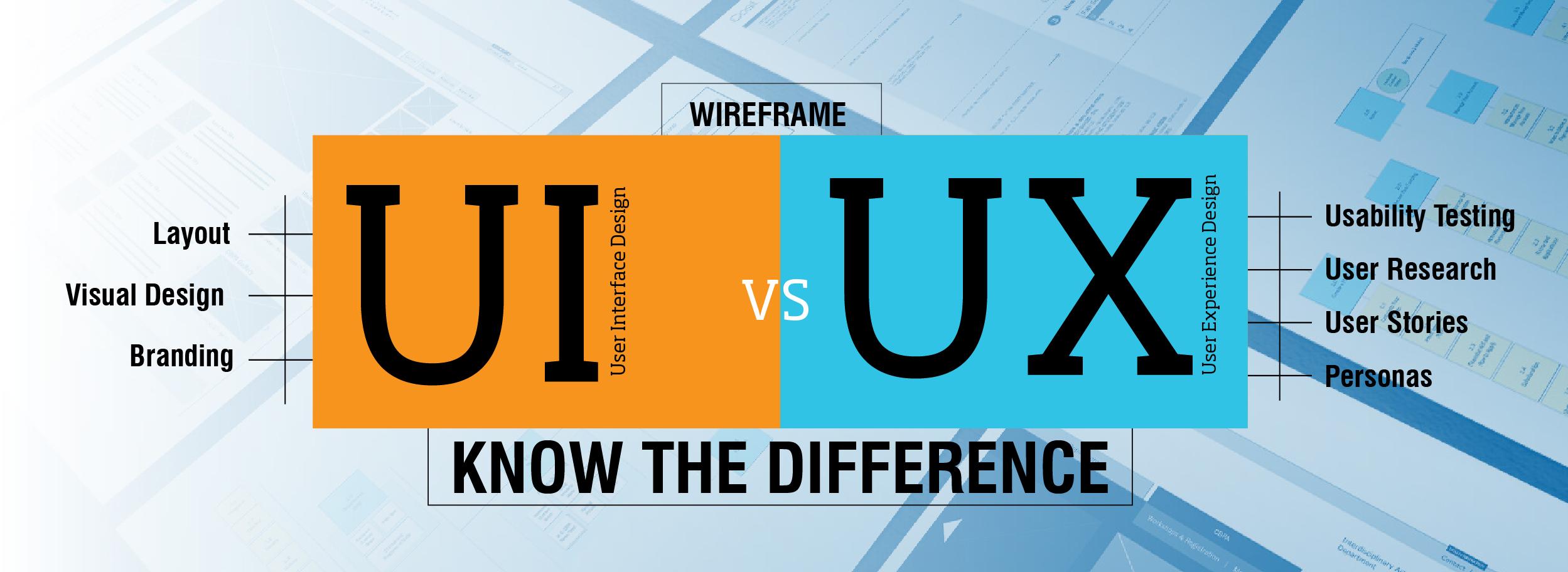 فرق UI و UX چیست
