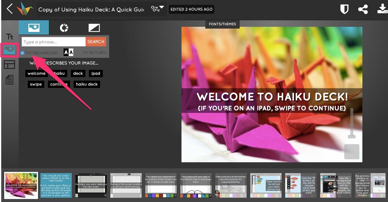 نرم افزار Haiku Deck