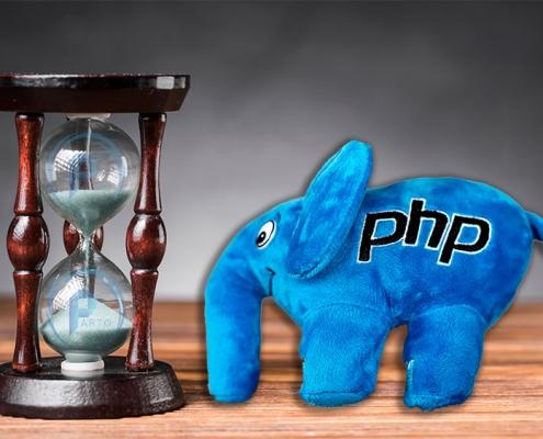مدت زمان یادگیری PHP