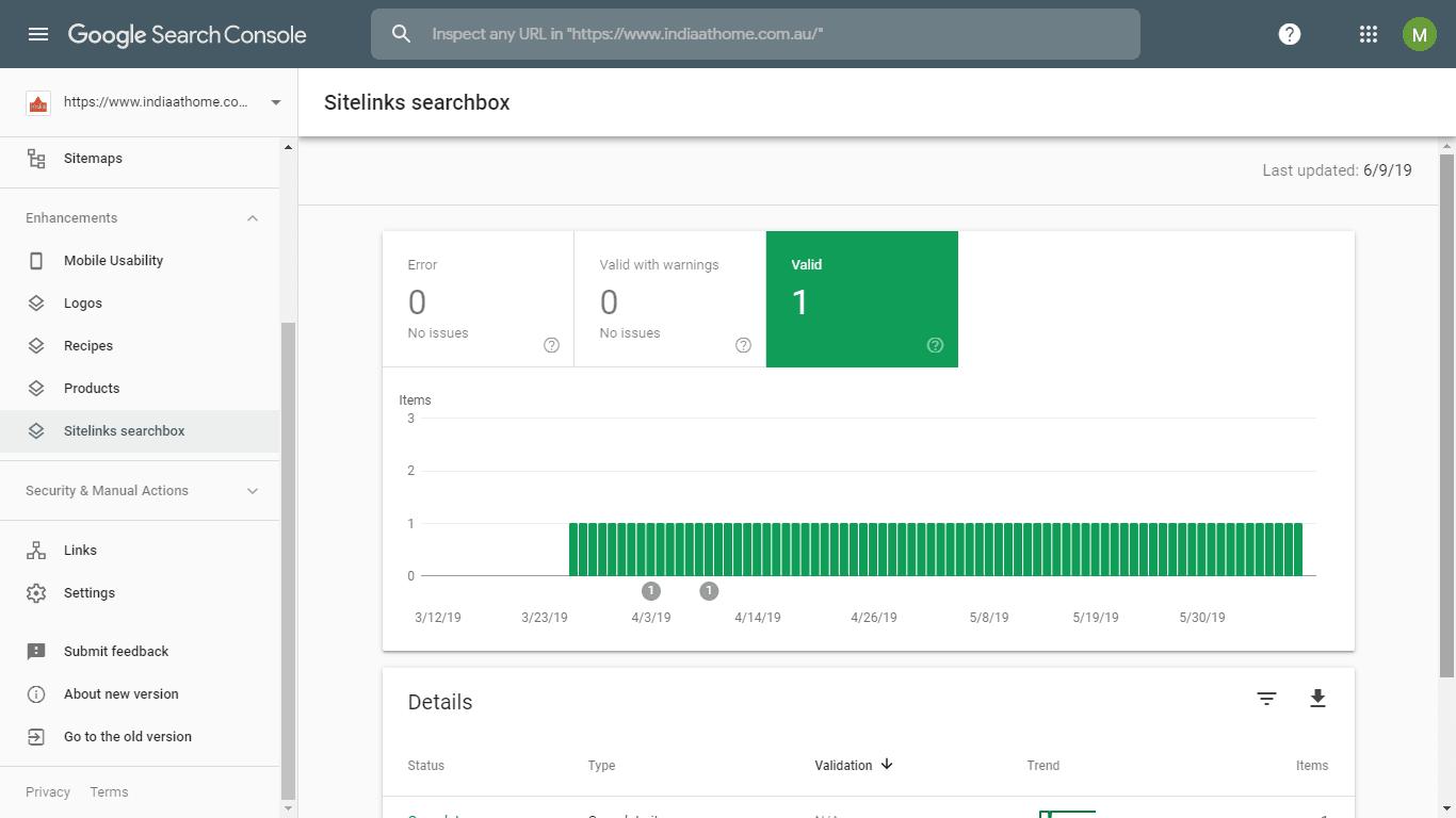آموزش Sitelinks Searchbox در گوگل سرچ کنسول